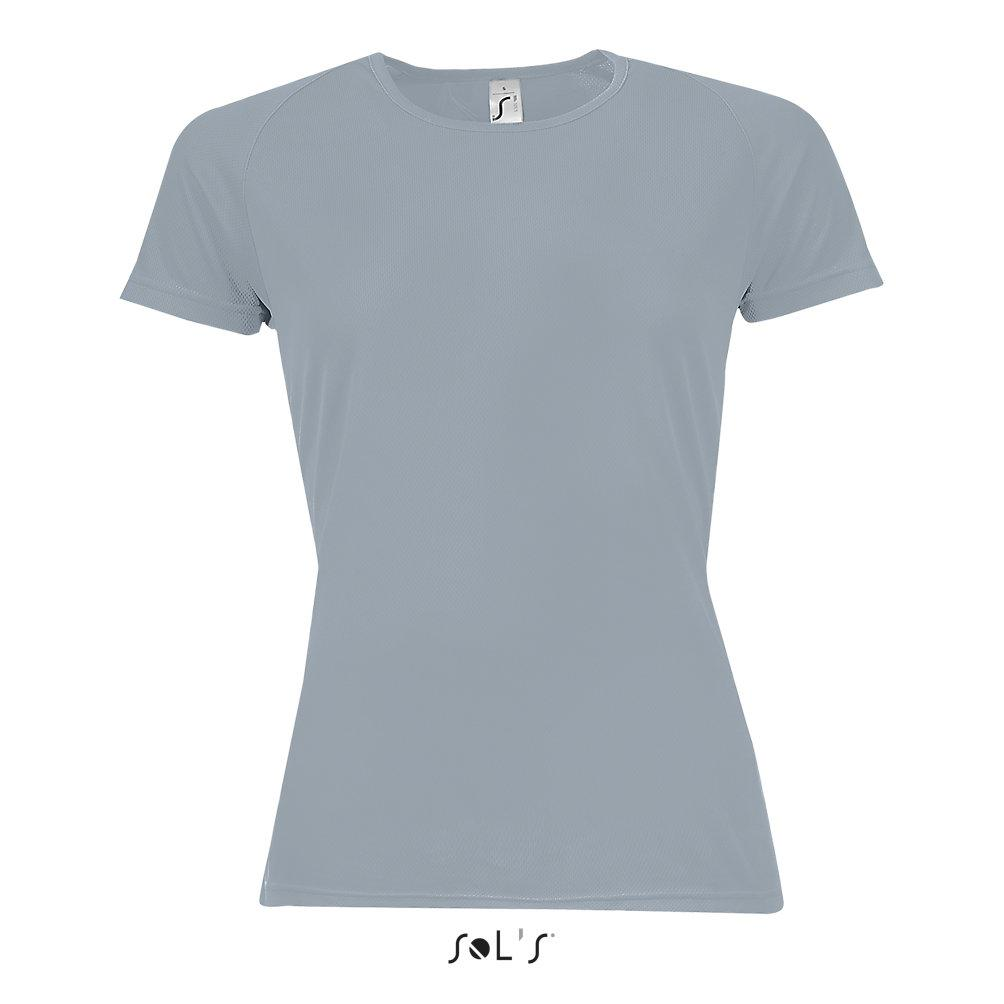 Футболка Dry Fit | Sols Sporty women L серый