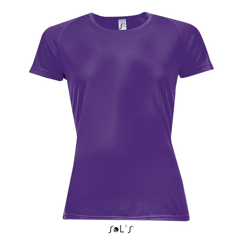 Футболка Dry Fit | Sols Sporty women S фиолетовый