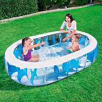 54066 BW Надувной овальный бассейн, 229х152х51 см, 542 л, фото 1