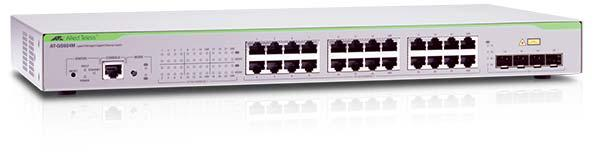 Allied Telesis AT-GS924M-50 Коммутатор 20 портов 1000Мб + 4 комбо порта 1000BASE-T/Mini GBIC