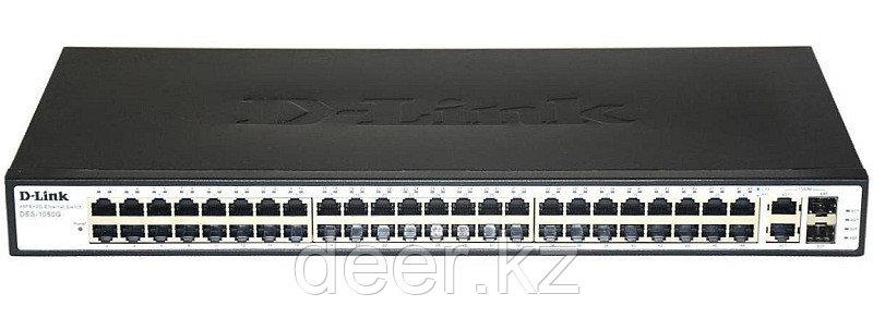D-Link DES-1050G/C1A Коммутатор 48 порт 10/100 + 2 100/1000