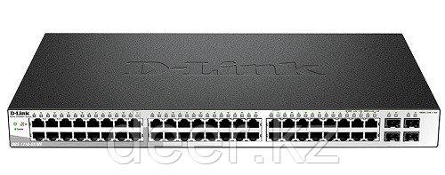 D-Link DGS-1210-52/ME/A1A  WebSmart коммутатор 48 портов 10/100/1000  + 4SFP
