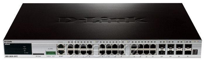 D-Link DGS-3620-28SC/B1AEI  Управляемый коммутатор 3-го уровня