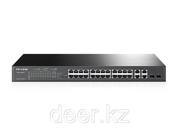 TP-Link T1500G-10PS JetStream гигабитный 8-портовый Smart коммутатор PoE с 2 SFP-слотами