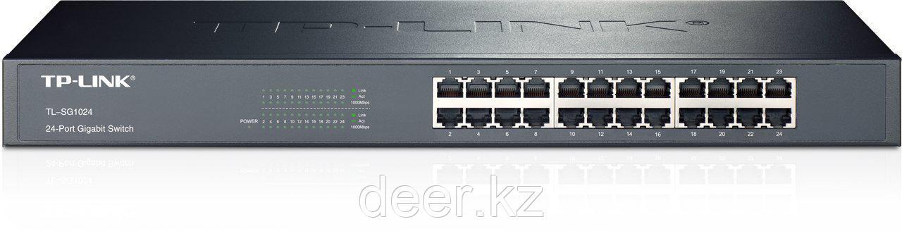 TP-Link TL-SG1024 24-портовый гигабитный монтируемый в стойку коммутатор