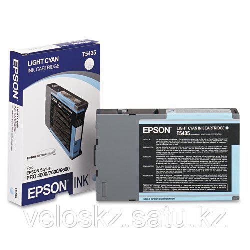 Картридж Epson C13T543500 STYLUS PRO7600/9600 светло-голубой