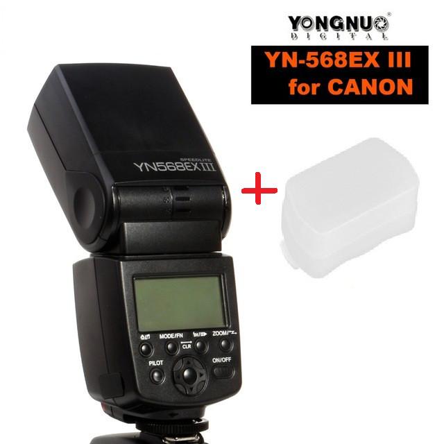YN-568EX -N III HSS (3-я версия) для NIKON+ рассеиватель в Подарок