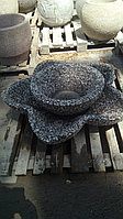 Форма стеклопластиковая для изготовления вазона-Каменный цветок