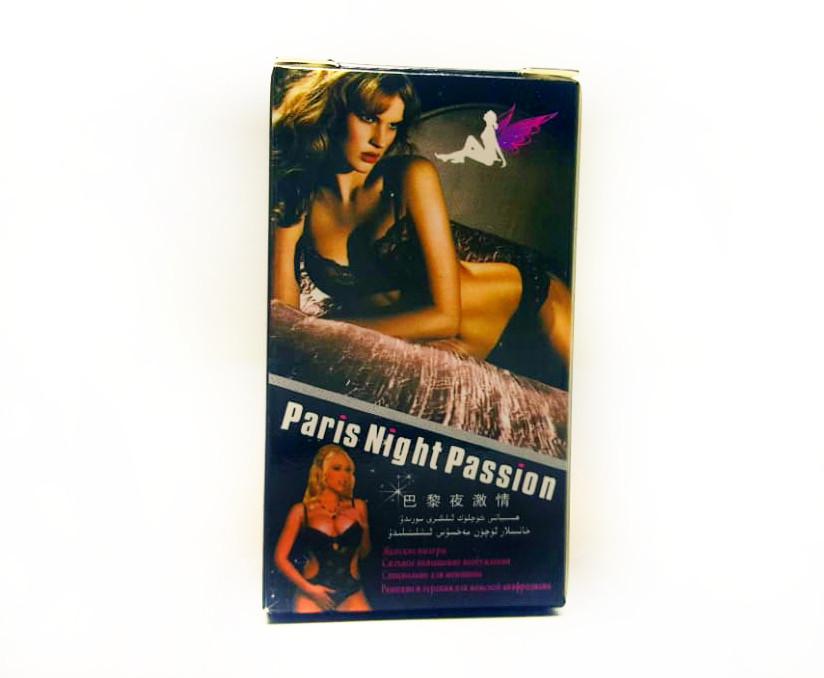 """Возбудитель женский """"Paris Night Passion"""" - Капли + порошок"""