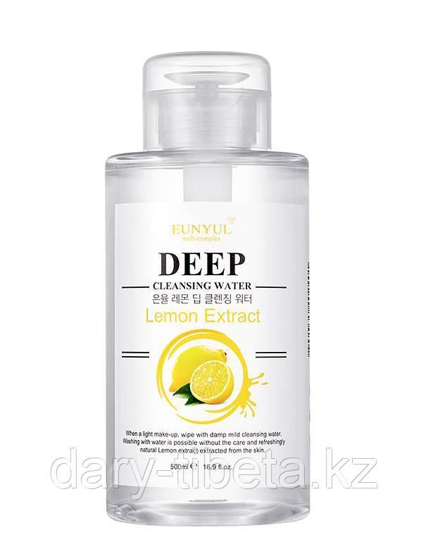 Eunyul Deep Cleansing Water Lemon Extract-Очищающая вода с экстрактом Лимона