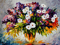 """Картины по номерам - Л.Афремов """"Цветочный фейерверк"""""""