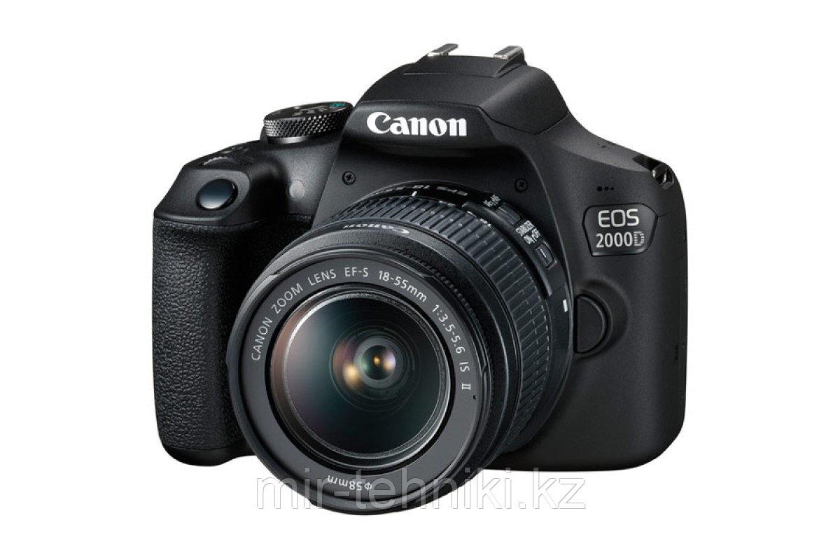 Фотоаппарат Canon EOS 2000D Kit 18-55 IS II