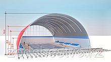 Проектирование и строительство под ключ бескаркасных арочных ангаров, складов, зданий и сооружений из ЛМК