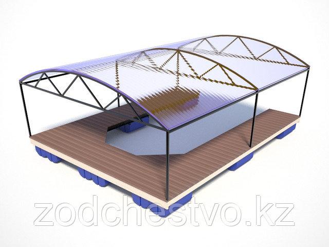 Крытая стоянка для катера (эллинг)