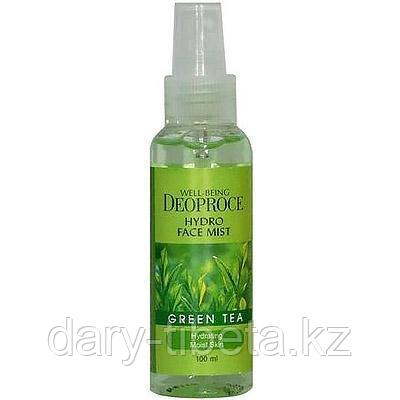 Deoproce Well-Being Hydro Face Mist Green Tea-Мист для лица увлажняющий с экстрактом зеленого чая