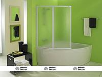 Шторка стеклянная для ванн KOLPA SAN QUAT TP 108x140