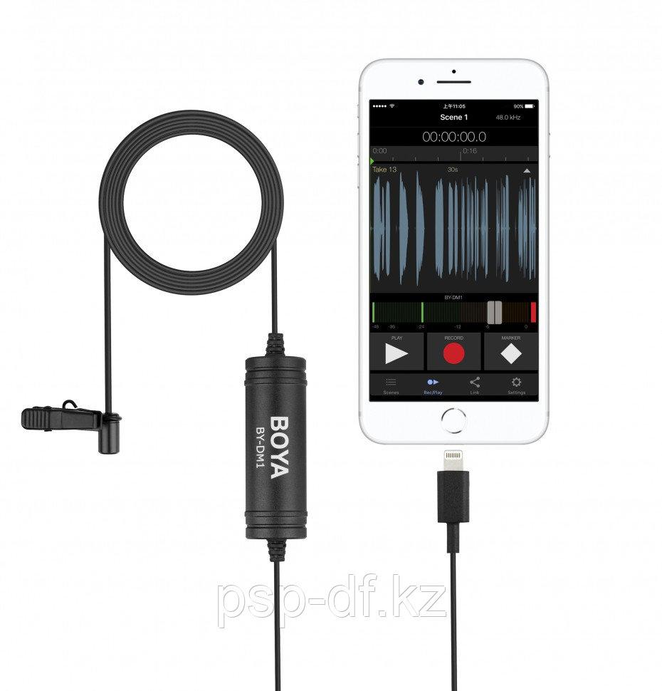 Петличный для сматрфонов Android USB Type-C Boya BY-DM2