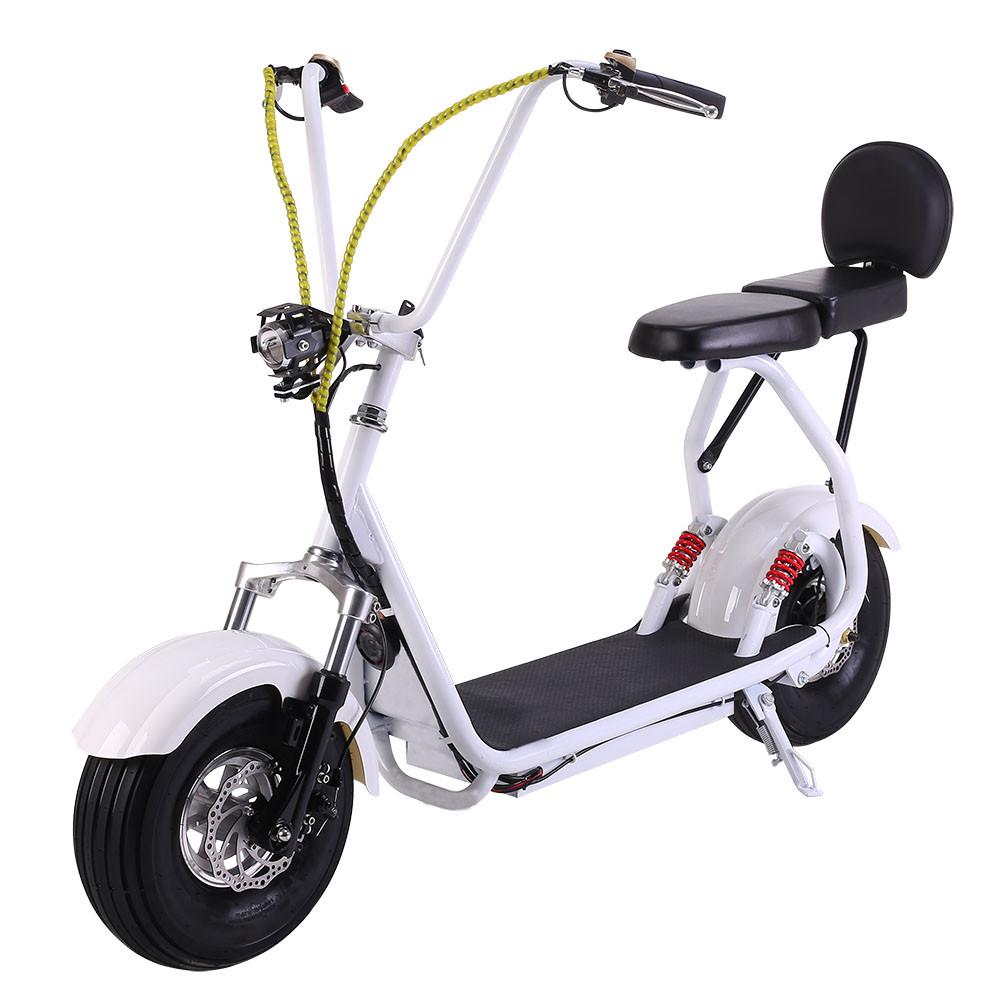 Электросамокат с раскладным двойным сиденьем EL-Sport Mini Citycoco