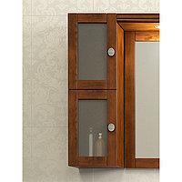Шкафчик для зеркала МИРАЖ, светлый орех