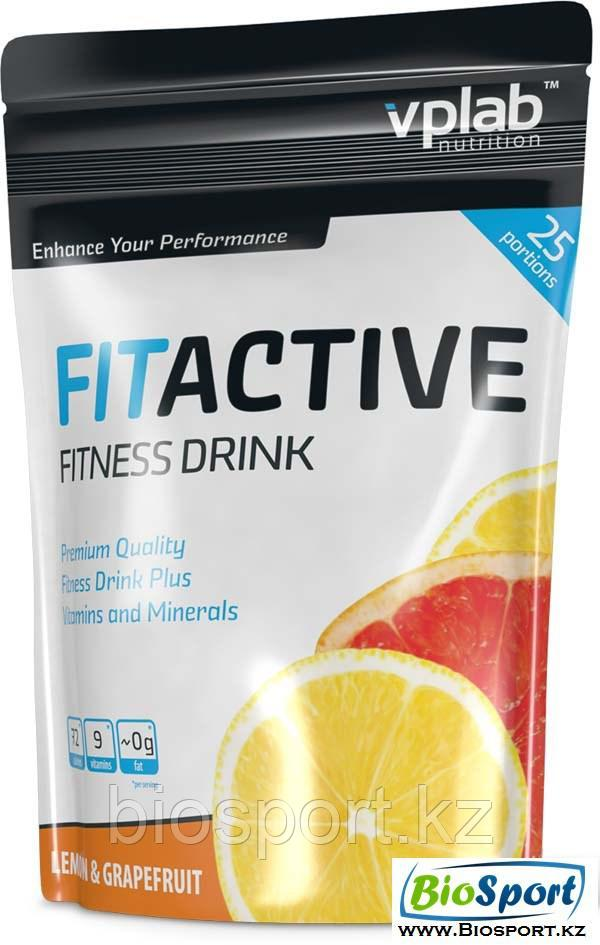 Изотоник Fit Active Fitness Drink 500 грамм, VPLab