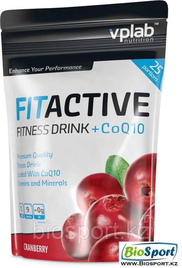 Изотоник FitActive Fitness Drink + Q10 500 грамм, VPLab.