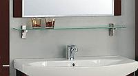 Полка стеклянная Ария 80
