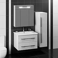 Комплект мебели ОКТАВА 80 Белый глянцевый