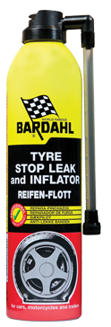 BARDAHL TIRE INFLATOR (герметик шин)