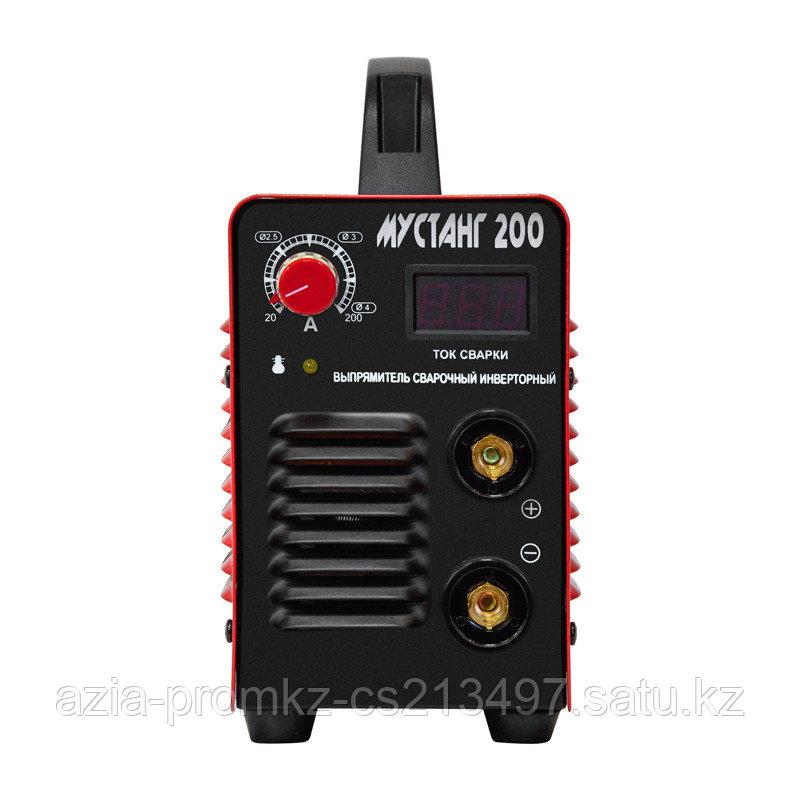 Сварочный инвертоный выпрямитель Мустанг 200