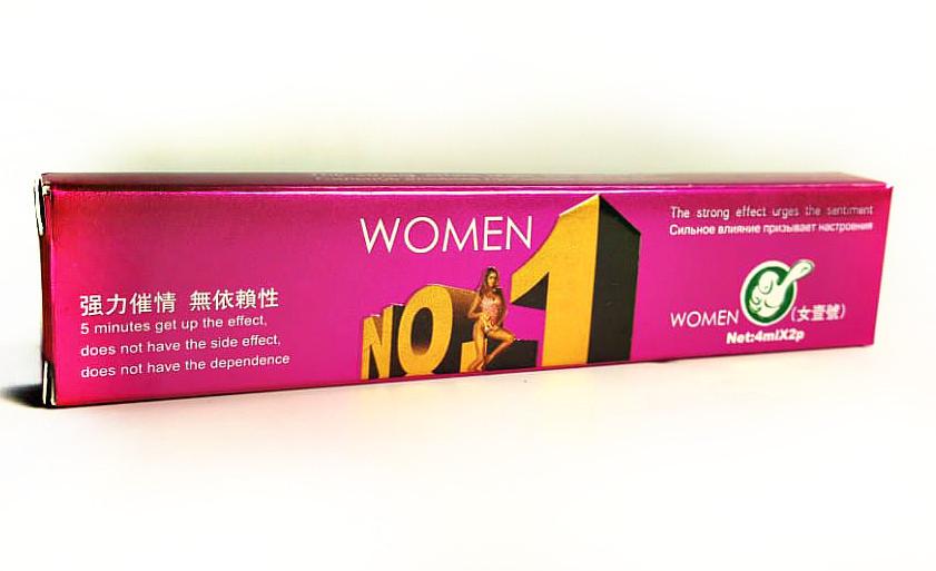 WOMEN №1 - женские возбуждающие капли - 2 дозы