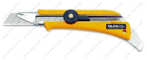 (OL-OL) Нож OLFA с выдвижным лезвием для ковровых покрытий, 18мм