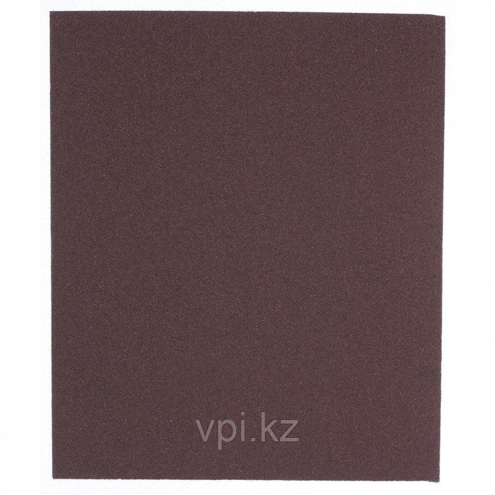 Шлифлист на тканевой основе, влагостойкий,  230*280мм, P120, Сибртех
