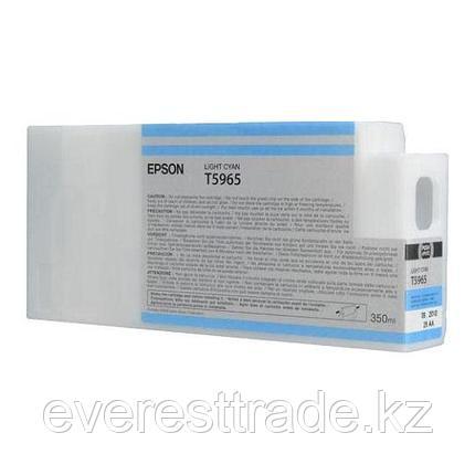 Картридж Epson C13T596500 SP 7900 / 9900 светло-голубой, фото 2
