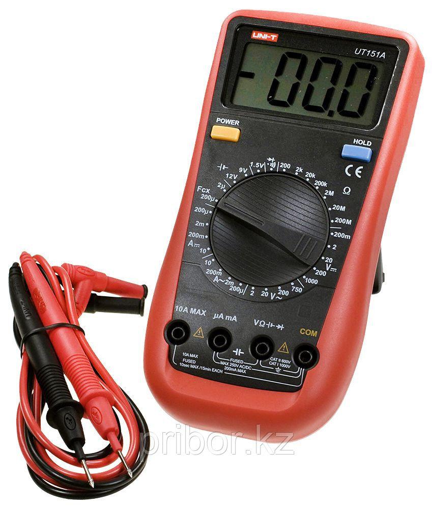 Мультиметр цифровой UT151A. Внесён в реестр РК