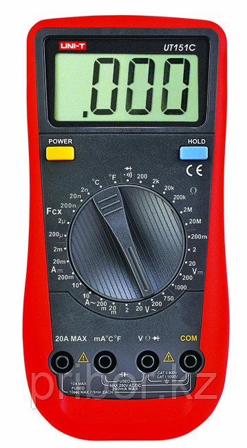 Мультиметр цифровой UT151C. Внесён в реестр РК