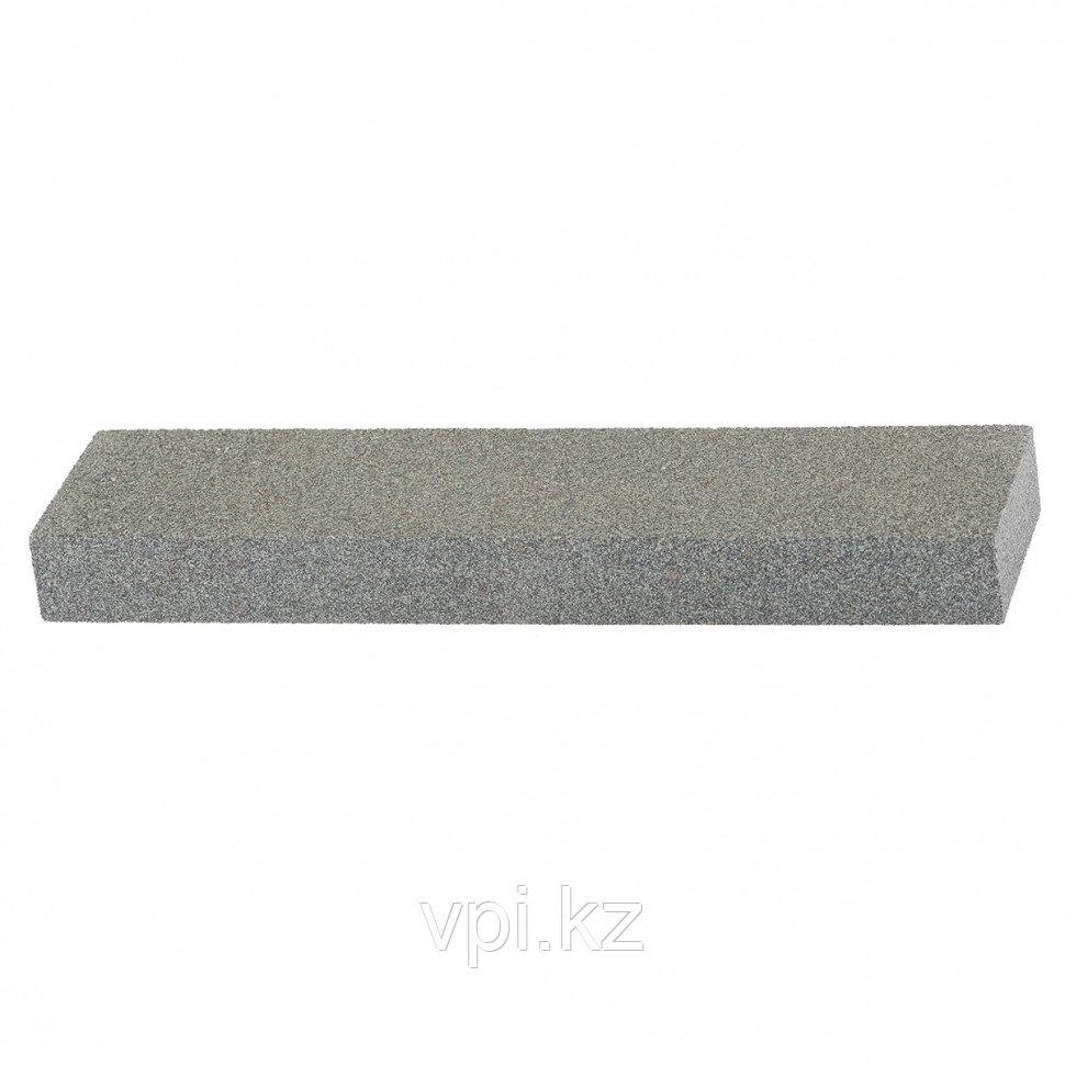 Брусок абразивный серый 200*50*25мм, Сибртех