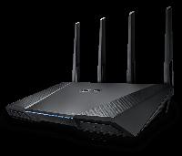 ASUS RT-AC87U Двухд-нный маршрутизатор стандарта  802.11ac (до 2334 Мб) с портами Gigabit Ethernet