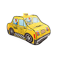 Детская игровая палатка такси.
