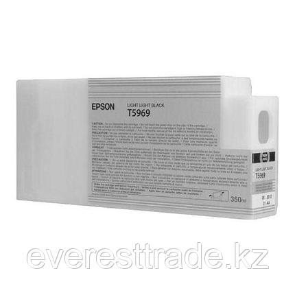 Картридж Epson C13T596900 SP 7900 / 9900 светло-серый, фото 2