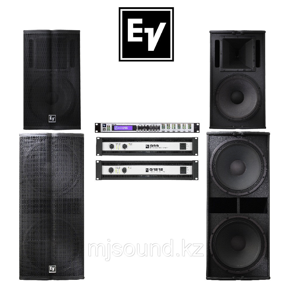 Комплект пассивной  акустики Electro-Voice TX 2х2