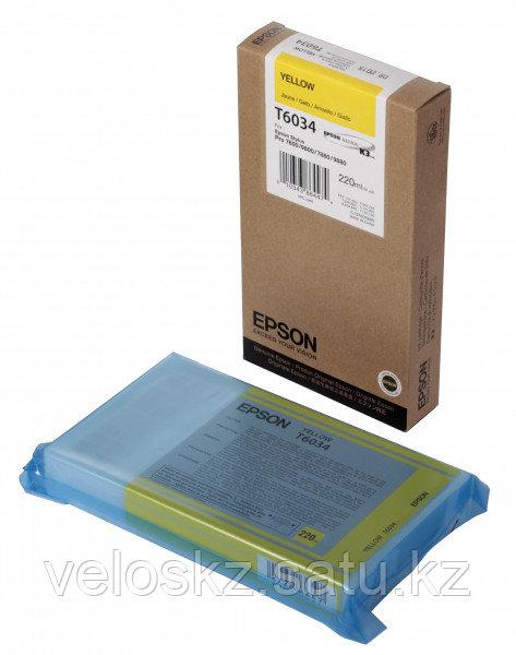 Картридж Epson C13T603400 SP-7880/9880 желтый