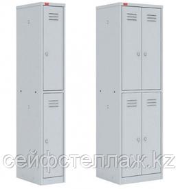 Шкаф для одежды металлический односекционный
