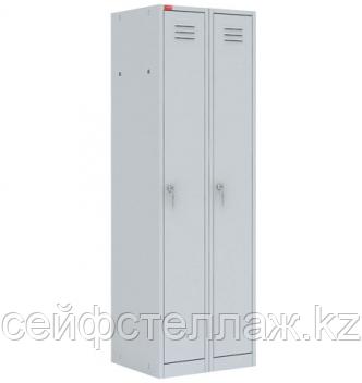 Металлический шкаф для одежды ШРМ – 22М/800