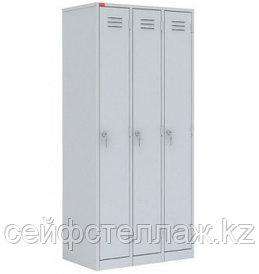 Металлический шкаф для одежды ШРМ-33