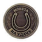 """Монета на удачу """"Для приумножения богатства"""", фото 2"""