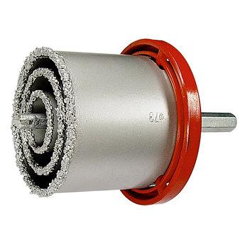 (72840) Набор коронок по керамической плитке, 33-53-67-73 мм, 6-гранный хвостовик // MATRIX