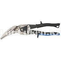 Ножницы по металлу PIRANHA,270мм,прямой и правый проходной рез,сталь-СrMo,двухкомпонентные рукояткиGROSS (002)