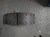 Колодка тормозная Урал в сборе под однополосный цилиндр