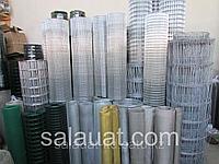 Сетка сварная с полимерным покрытием размер ячейки 60х60 ширина рулона 1.8 м длина рулона 30 метров