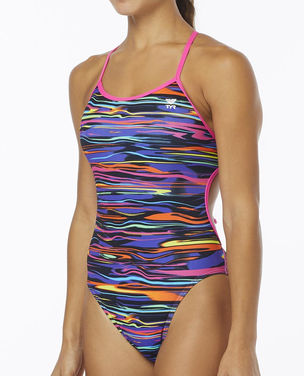 Купальник TYR Fresno Crosscutfit Tieback Swimsuit 185 - фото 1